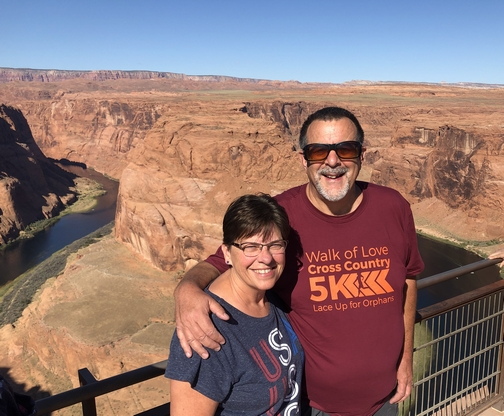 Horseshoe Bend couple 9/27/19