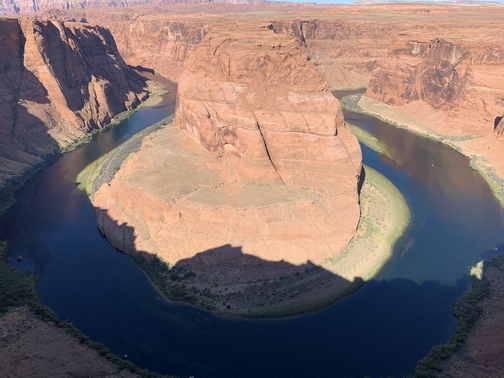 Horseshoe Bend 9/27/19 (Click to enlarge)
