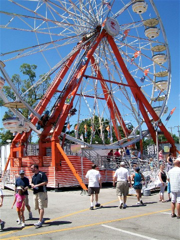 Indiana State Fair Ferris Wheel