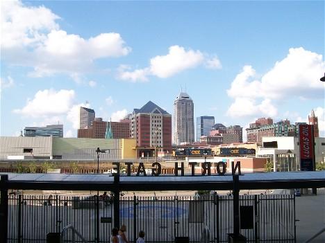 Indianapolis skyline 8/10