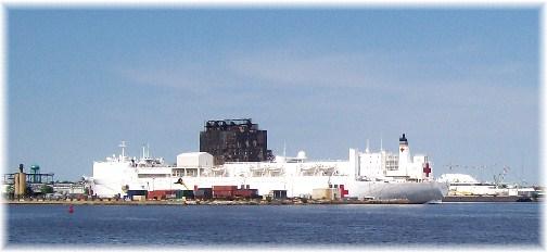 Comfort naval floating hospital