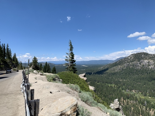 Lake Tahoe in distance 7/23/19 Click to enlarge