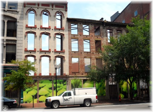 Louisville KY facade  7/8/13