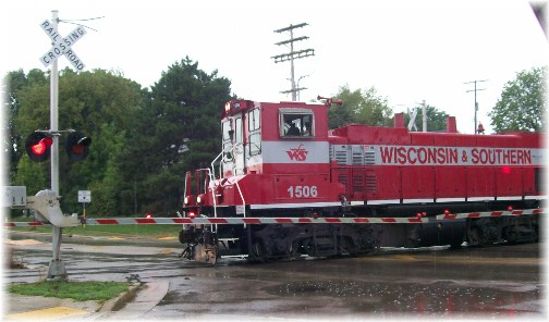 Train in Madison WI  8/8/12