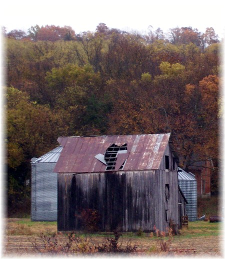 Barn in northwest Missouri