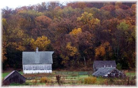 Barn in northwest Missouri