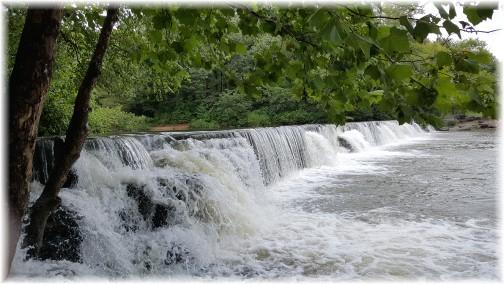 Natural Dam, Arkansas 8/6/17 (Click to enlarge)