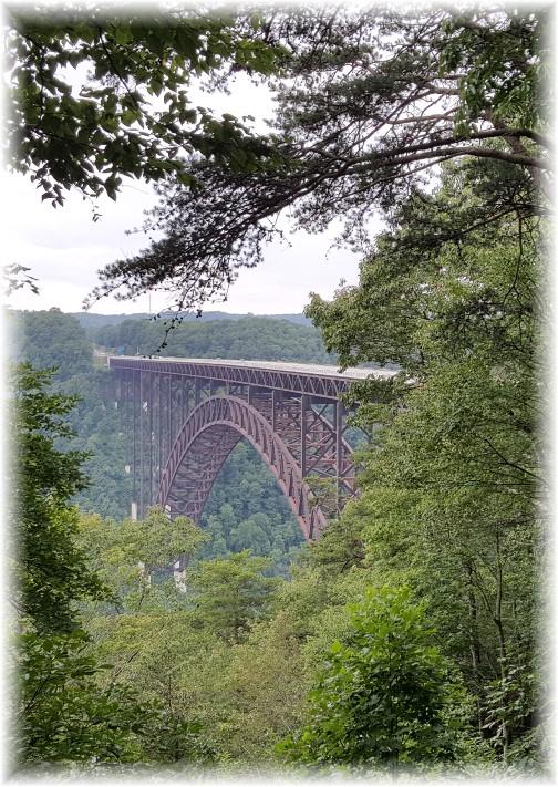 New River Bridge, WV 8/10/17