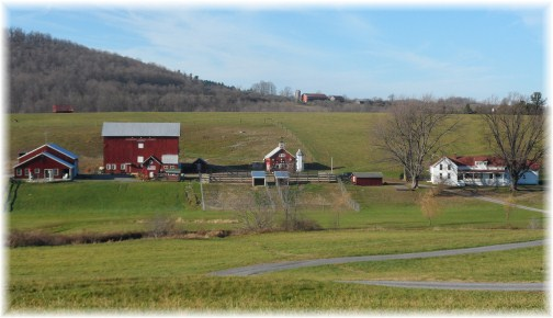 Farm in New York State