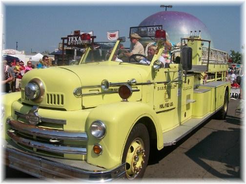 Ohio State Fair parade fire truck 8/12