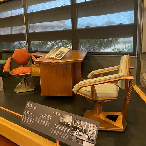 Price Tower 1950's office, Bartlesville Oklahoma