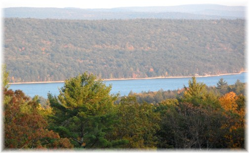 Quabbin Reservoir in central MA