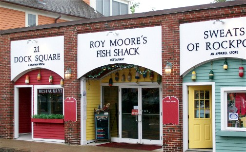 Roy Moore's Fish Shack, Rockport, MA
