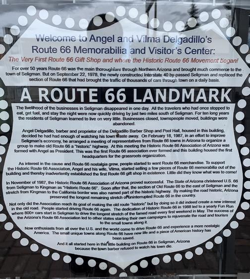Seligman Arizona route 66 9/24/19
