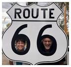 Rt 66 sign