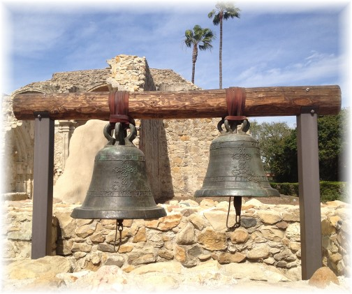 Bells at Mission San Juan Capistrano