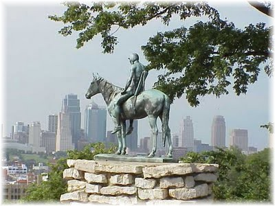 The scout in Kansas City