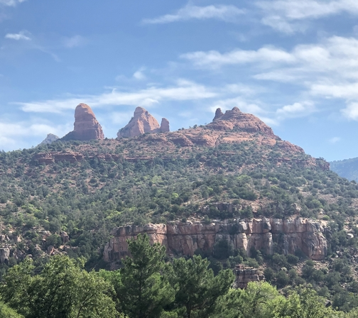 Red bluffs, Sedona, AZ 9/25/19