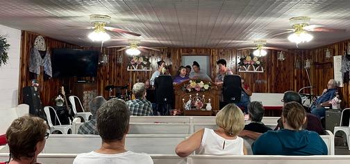 Sherrelville church service