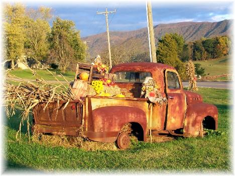 Smoky mountain truck TN 10/25/10