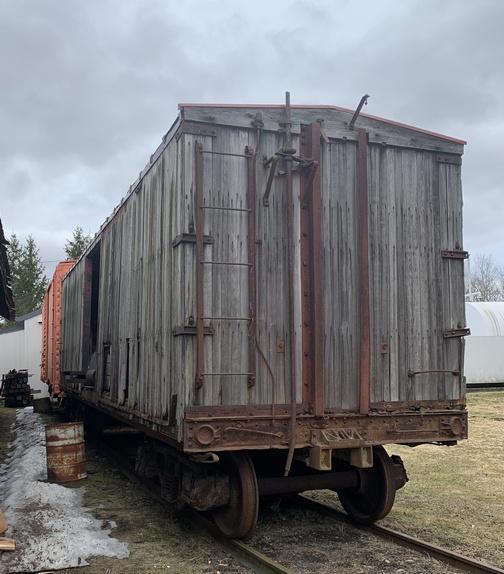 Train car storage, NY 3/14/20