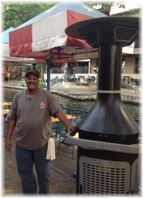 Tyrone at San Antonio Riverwalk 4/30/14