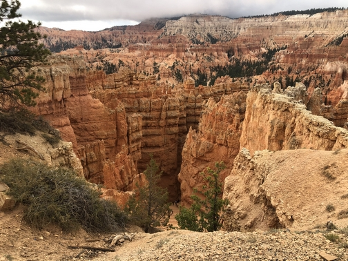 Bryce Canyon from Sunset Point 9/28/19 (Click to enlarge)