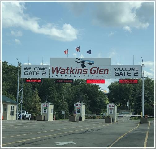 Watkins Glen race track, New York 7/28/18