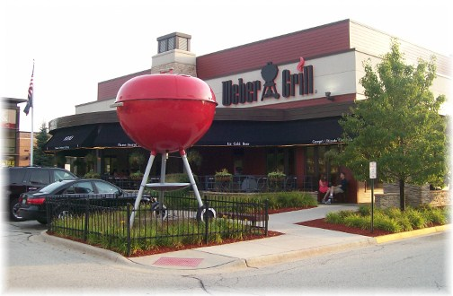 Weber Grill Restaurant 8/4/12
