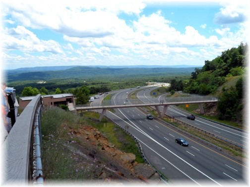 I-64 vista in western Maryland 7/6/13