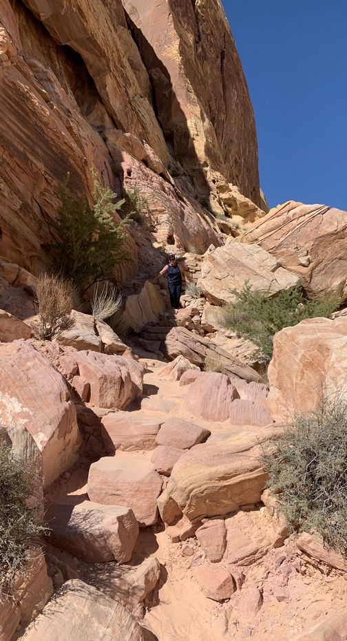 White Domes trail at Valley Of Fire state park, Nevada 9/30/19