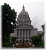 Wisconsin capitol 8/8/12
