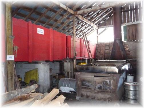 Yancey's sap boiler