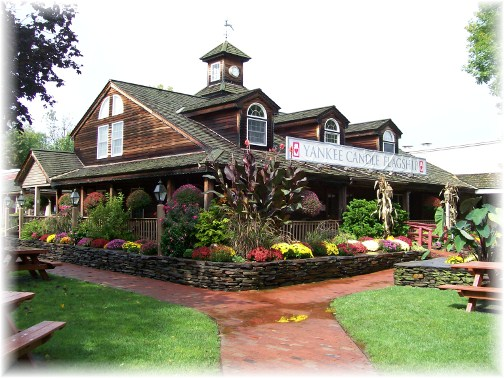 Yankee Candle flagship store, South Deerfield, MA