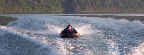SCW on water board