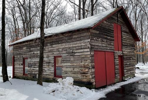 Berks County log cabin