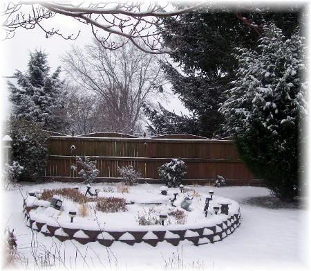 Fresh snowfall 12/31/09