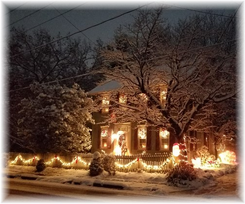 Winter home in Lancaster County (Photo by Joe Ulicny)