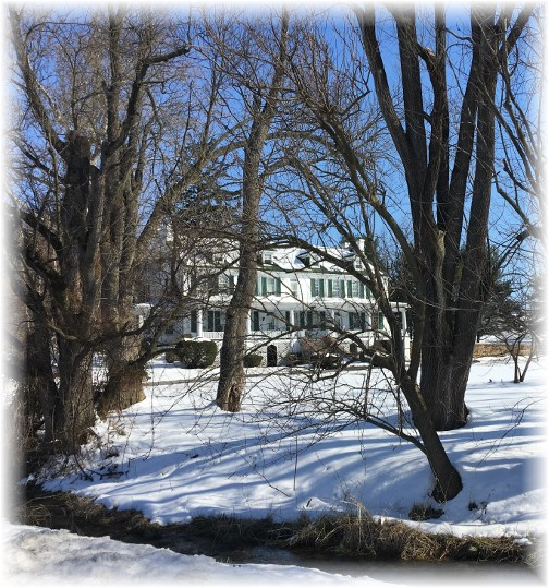 Lebanon County farmhouse 3/19/17 (Click to enlarge)