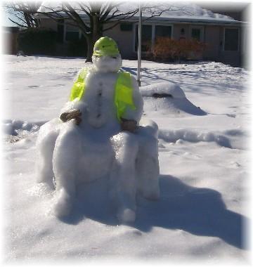 Snowman 2/3/11
