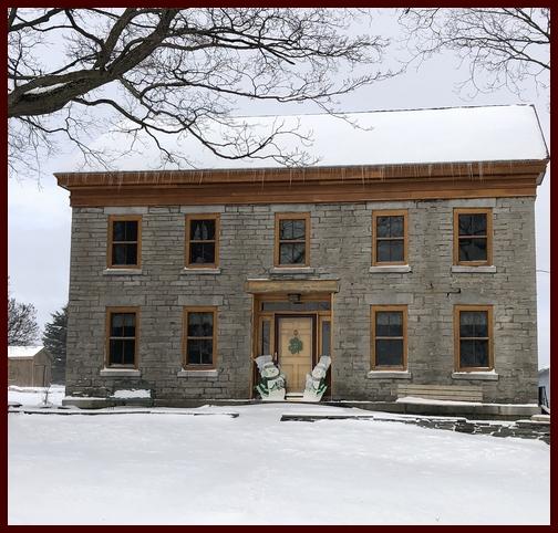 Stone House farmhouse, New York state 3/23/19