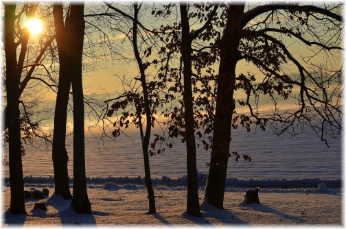 Winter sunrise (Photo by Doris High)