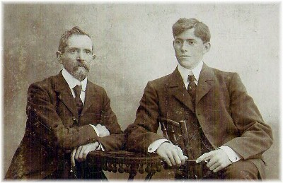 Stephen's great grandfather and grandfather