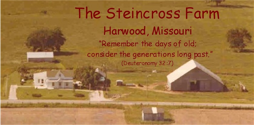 Steincross farm, Harwood Missouri (click to enlarge)